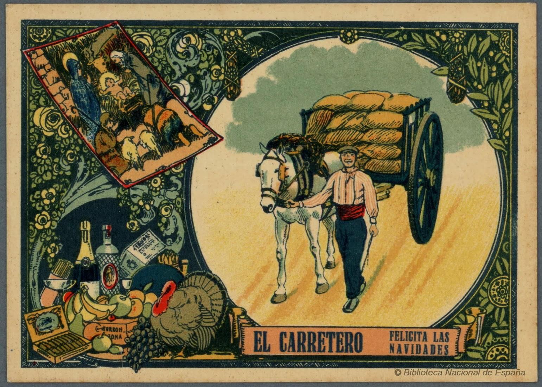 Felicitaciones Antiguas Navidad.Historia Magistra Vitae Est Las Felicitaciones De