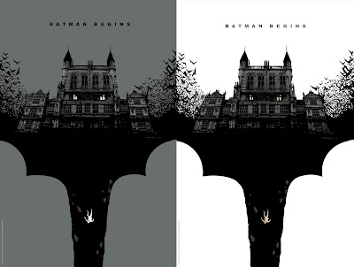 Batman Begins Screen Print by Lee Garbett x Bottleneck Gallery