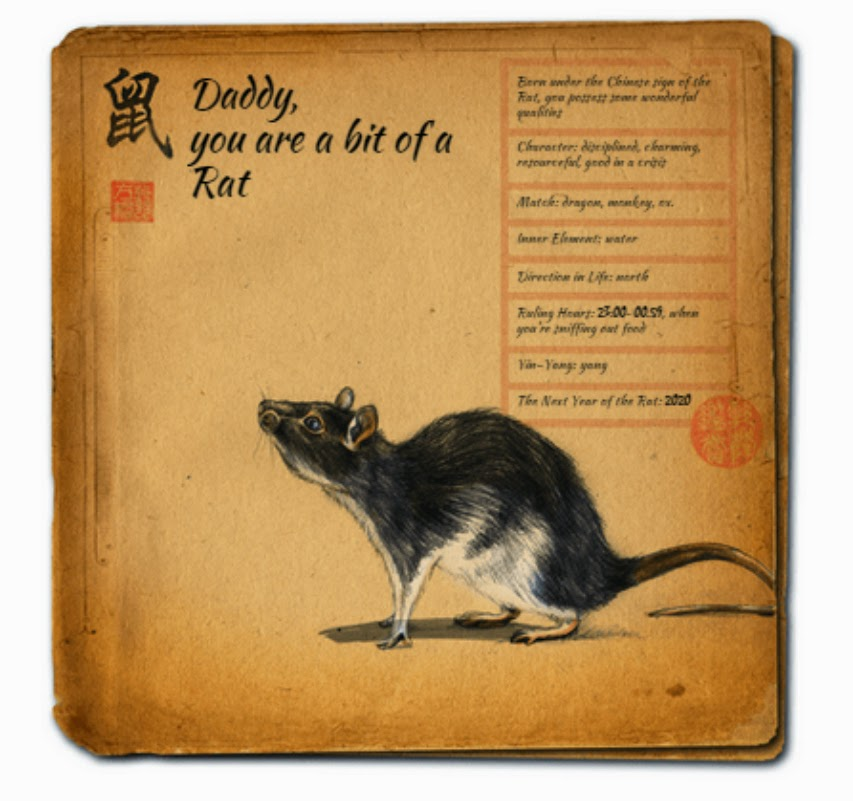 The Year of the Rat from the Book of Valentine