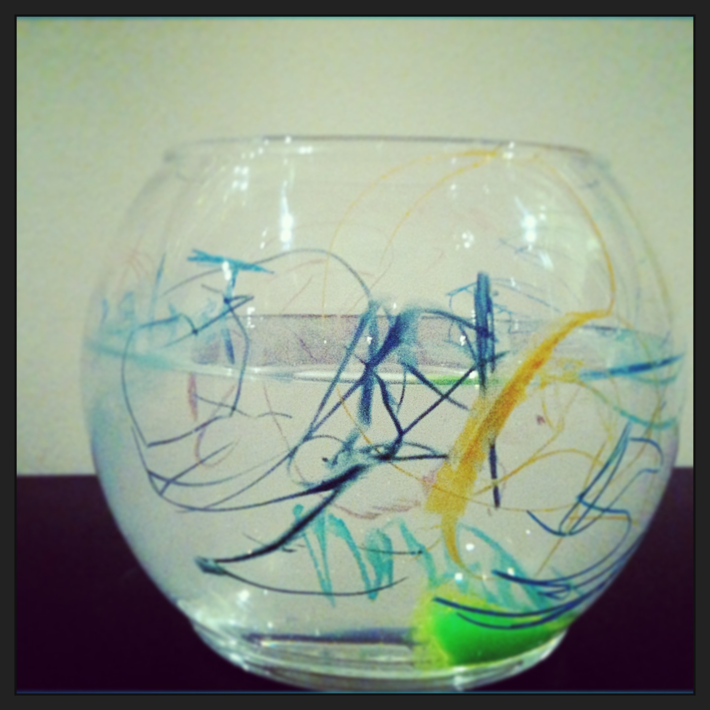 The life of a babysitter sea life for Dollar tree fish bowls