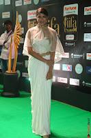 Lakshmi Prasanna in Transparent Saree Spicy Sleeveless Choli at IIFA Utsavam Awards 2017  Day 2  Exclusive 23.JPG