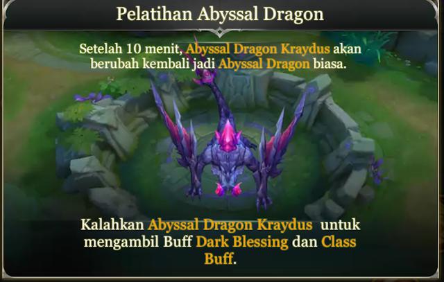 Monster Hutan AOV Bentuk Baru Dark Slayer dan Abyssal Dragon Sangat mencolok
