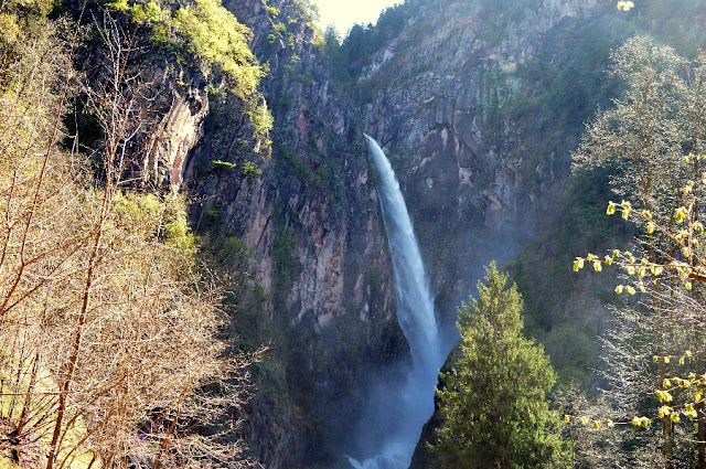 cascata più grande alto adige fragsburg