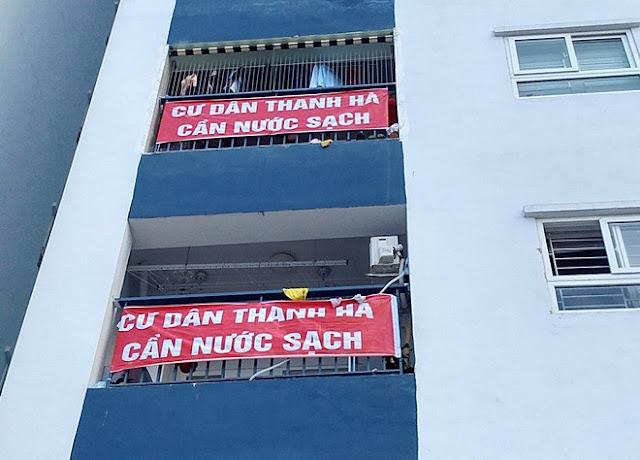 Cư dân Thanh Hà cần nước sạch