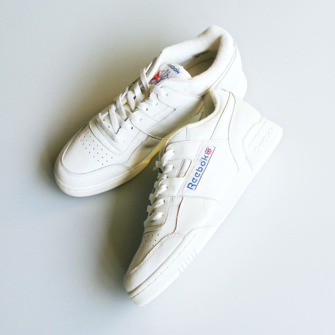 """Shoes:Reebok """"WORKOUT PLUS VINTAGE"""" Price:15,120yen"""