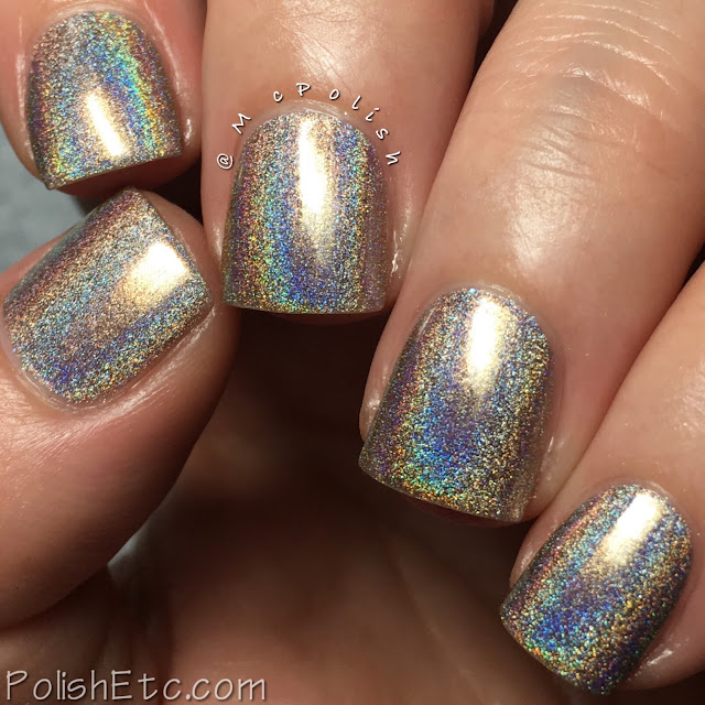 KBShimmer - Holo-Day Collection 2017 - McPolish - You're Brew-tiful
