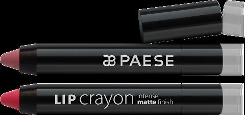Lip Crayon - matowe pomadki od Paese