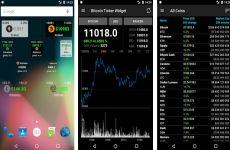 Bitcoin Ticker Widget: aplicación que permite saber el precio del Bitcoin y otras criptomonedas en tiempo real