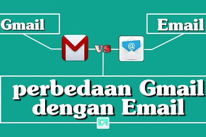 Banyak yang tidak tahu, Apa bedanya email dengan Gmail..?