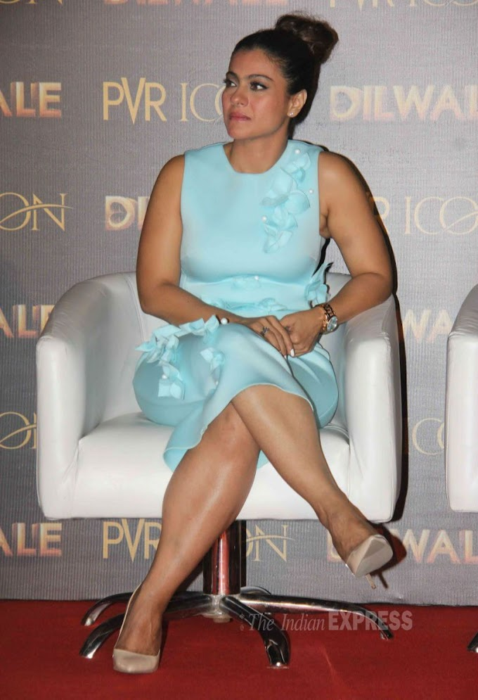 Kajol Latest Photos In Public Event Looking Busty Hot