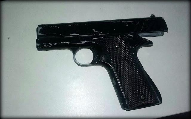 GMA detém homem portando simulacro de arma de fogo no terminal DIA