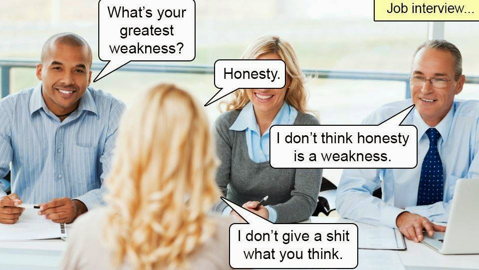Honesty: It can be tough to deal with.