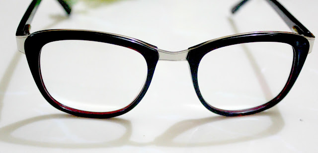 GlassesShop.com Haul Gemini Wayfarer (Burgundy)