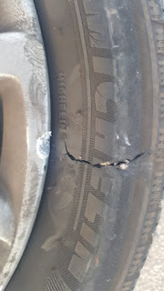 Flyfour's Ripped Tyre