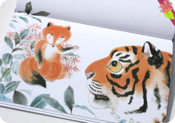 Le Renard et le Tigre de Guillaume Olive et He Zhihong - Les éditions des éléphants