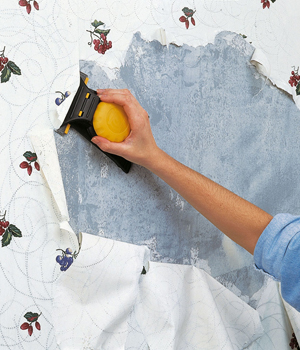 Home Decorating Magazines: How to Remove Wallpaper