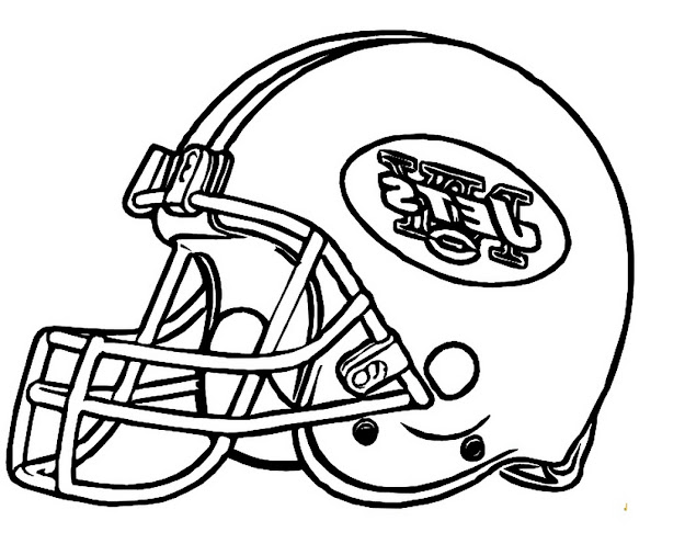 Doblelol  Thumbs Football Helmet Coloring Pages Print