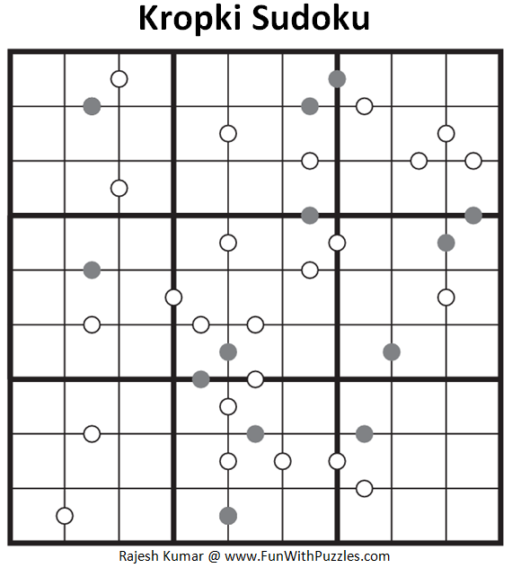 Kropki Sudoku (Fun With Sudoku #3)