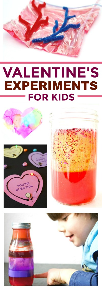 30+ VALENTINE'S THEMED EXPERIMENTS FOR KIDS #valentinesdaycrafts #valentinesideasforkids #valentinesscienceexperiments #valentinesdayscience #scienceexperimentskids #scienceforkids