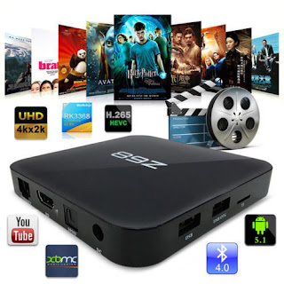 Z68 Smart Android 5.1 TV Box PC RK3368 Octa Core 64bit 2G/16GB 5G Bluetooth XBMC