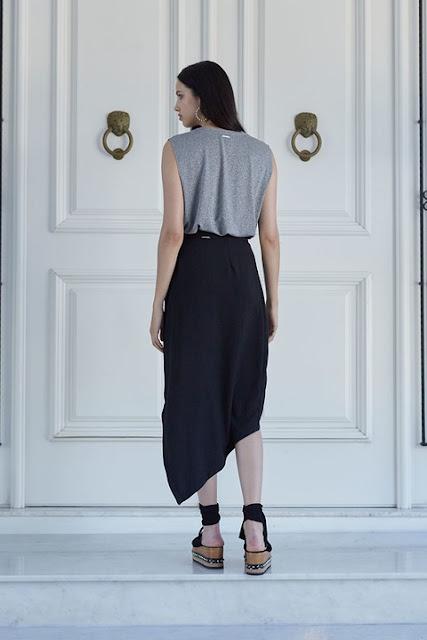 Moda feminina: Saia Assimetrica Colcci