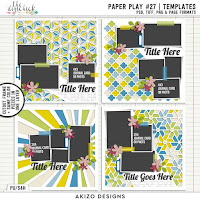 template : Paper Play27 by Akizo Designs