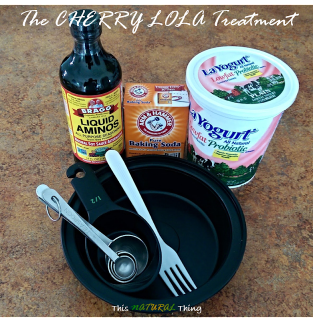 The Cherry Lola Treatment first time trial This NATURAL Thing