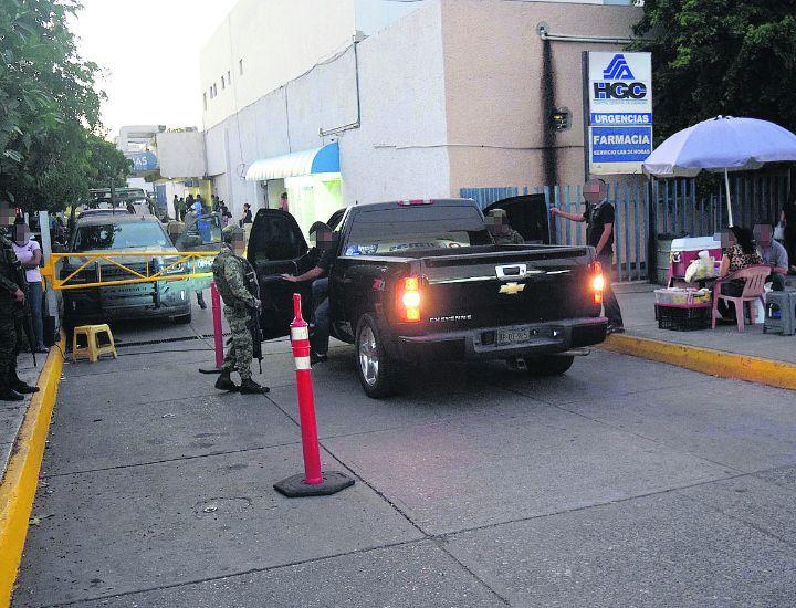 Ejército custodia a los Ántrax heridos en Culiacán