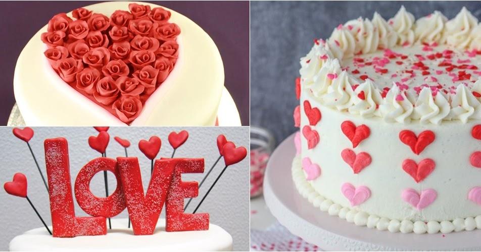 12 decorações de bolos para o dia dos namorados - Amando ...