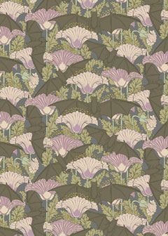 Domythic bliss the eerie and the faerie - Bat and poppy wallpaper ...