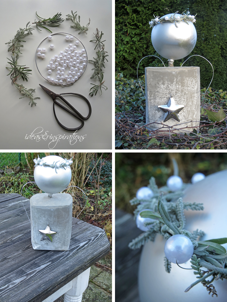 Ideas and inspirations diy xxl engel aus beton concrete angel - Beton weihnachtsdeko ...
