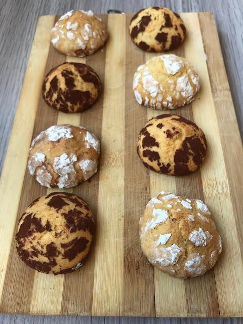 galletas craqueladas de naranja receta