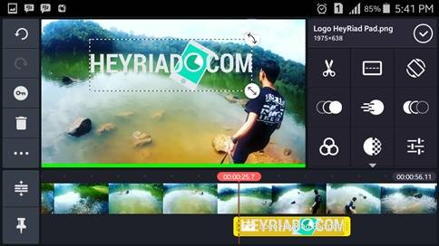 Cara Membuat Watermark Video di Android