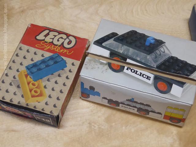 Toy Shop Museun Grundarfjördur Iceland Emil Kaffi Police vintage Lego car