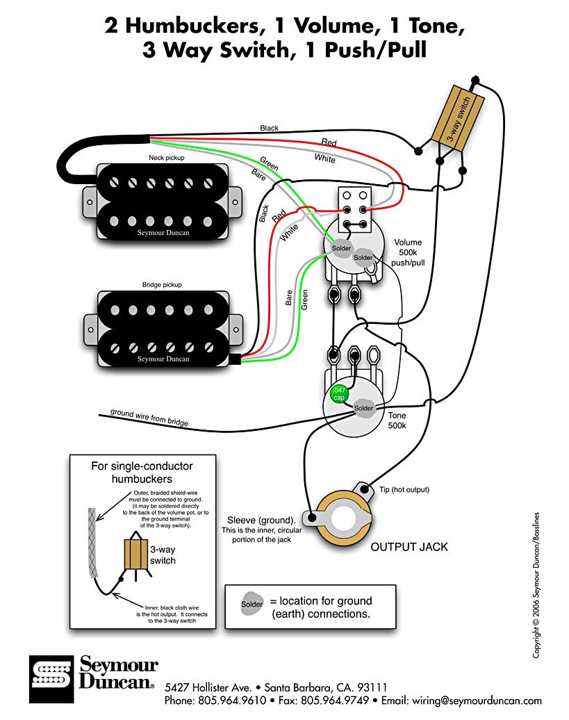 Bc Rich Mockingbird Wiring Diagram