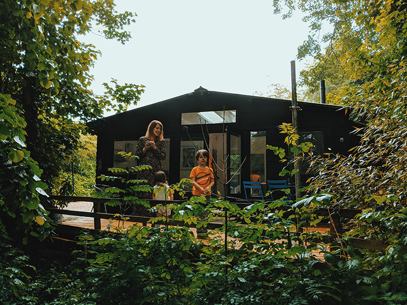 cabin in the woods uk