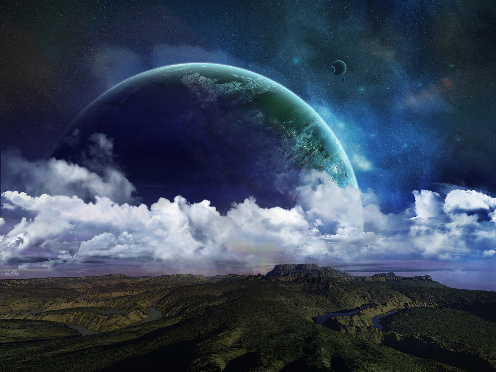 3d Space Background Wallpaper: Free Download Wallpaper