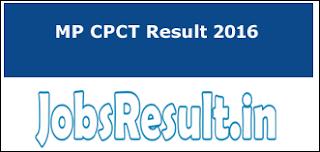 MP CPCT Result 2016
