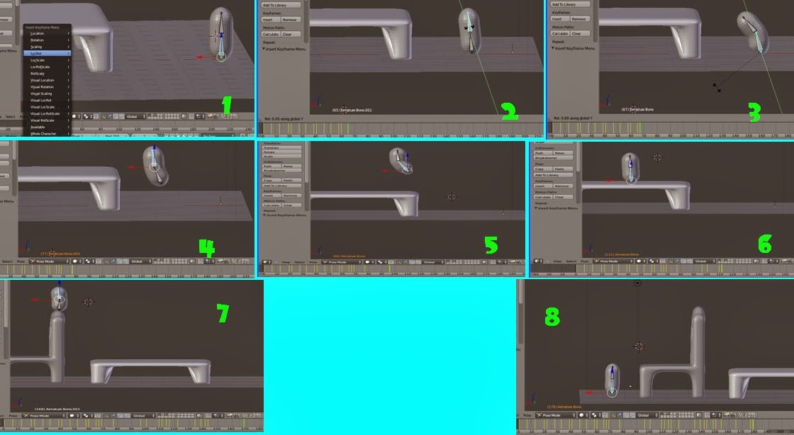 Cara Membuat Animasi Sederhana Di Blender 3d Tutorial Mustisrael