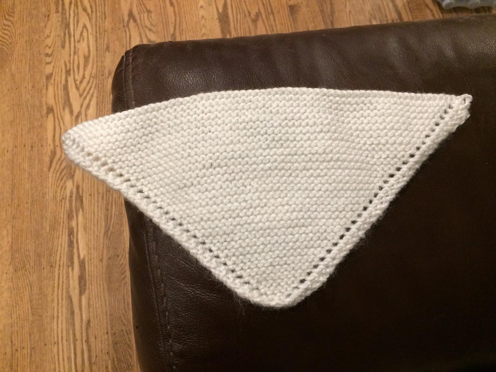 Knitting Pattern For Dolls Shawl : Everything Sewing: A Dolls Shawl