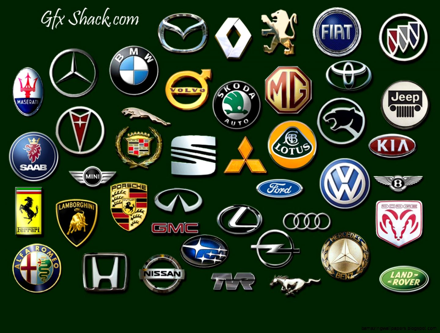 Luxury Car Emblems Amazing Wallpapers