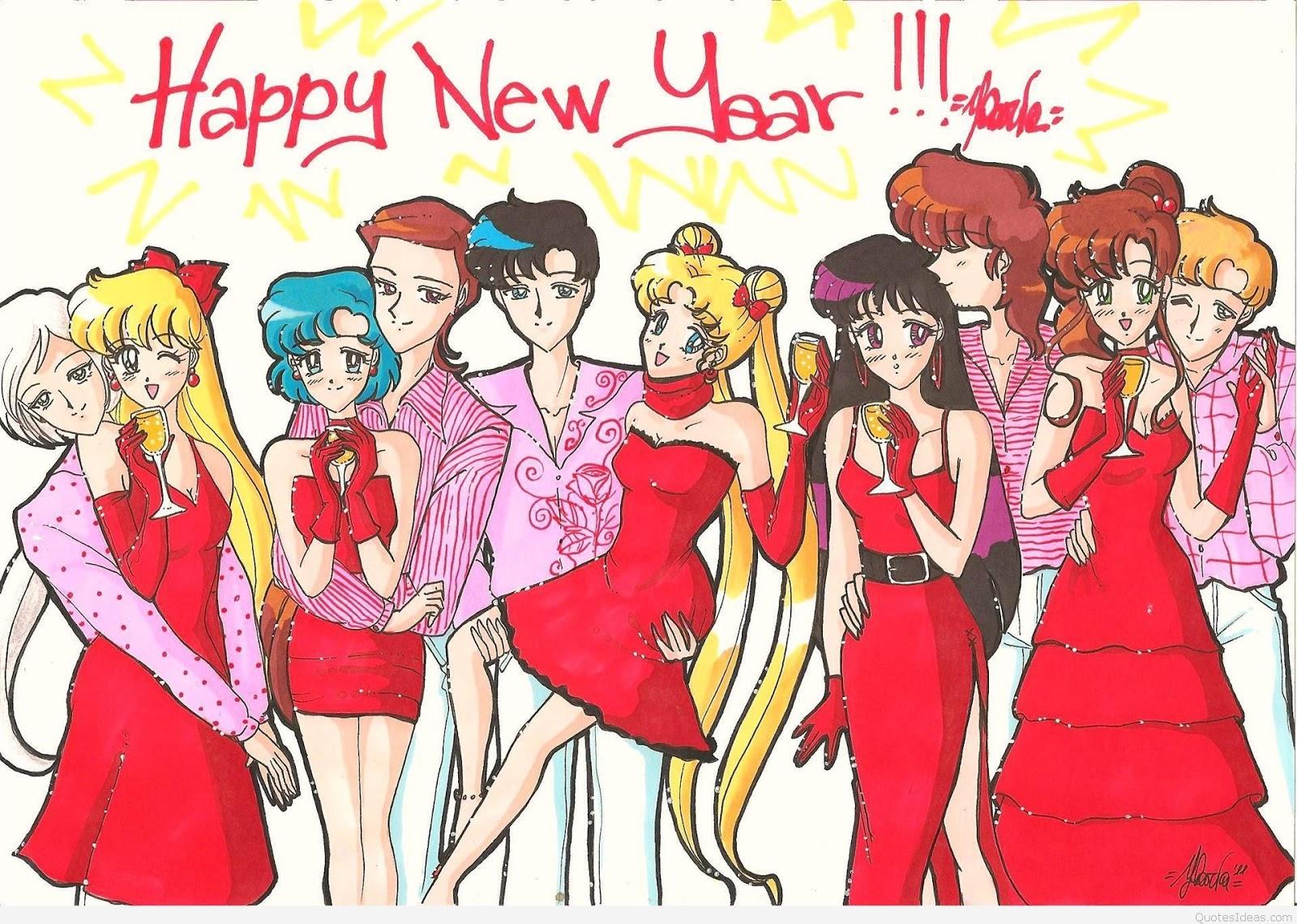 Happy New Year 2017 Cartoon Images | Happy New Year 2017