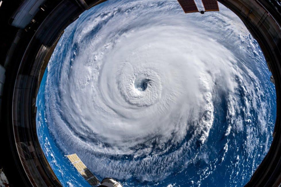 Uragano Florence: il mostro fotografato dallo Spazio.