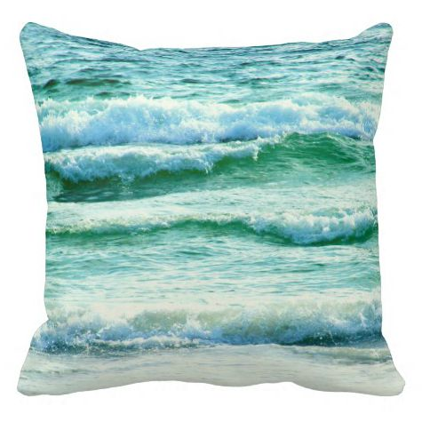 Wave Photo Pillow