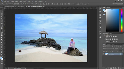 Cara Membuat Foto Up and Up Ala Video Clip ColdPlay dengan Photoshop