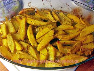 Πατάτες φούρνου - από «Τα φαγητά της γιαγιάς»