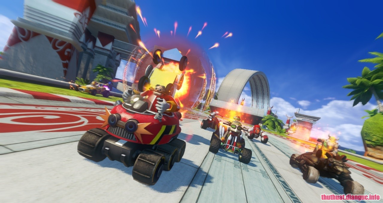 Download Game Sonic & All-Stars Racing Transformed - RELOADED
