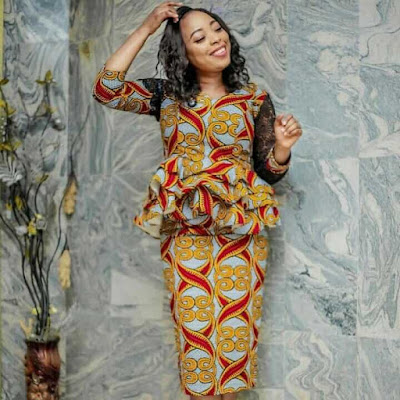 37 Latest Ankara Dress Styles Attires for Church Lookbook