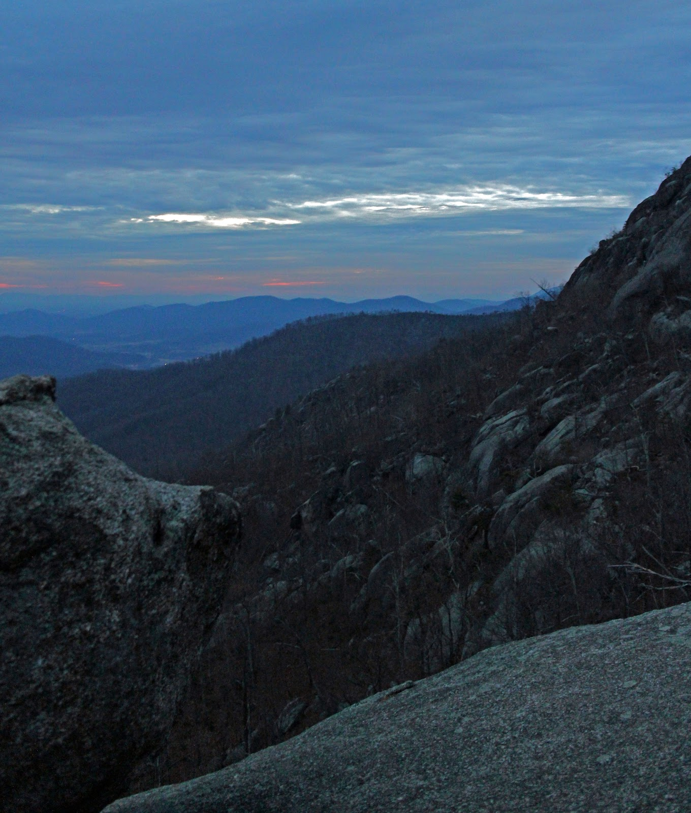 Old Rag Mountain Hikes/Patrols By RSL: December 2012