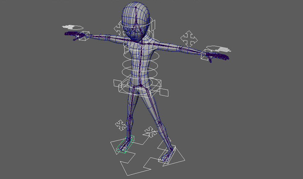 Character Rigging Part 2  H